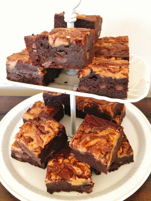 Peanut Butter Swirl Brownies – Recipe! Image 1