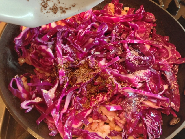 Spiced Pork Chops with Sweet & Sour Cabbage 083 (640x480)