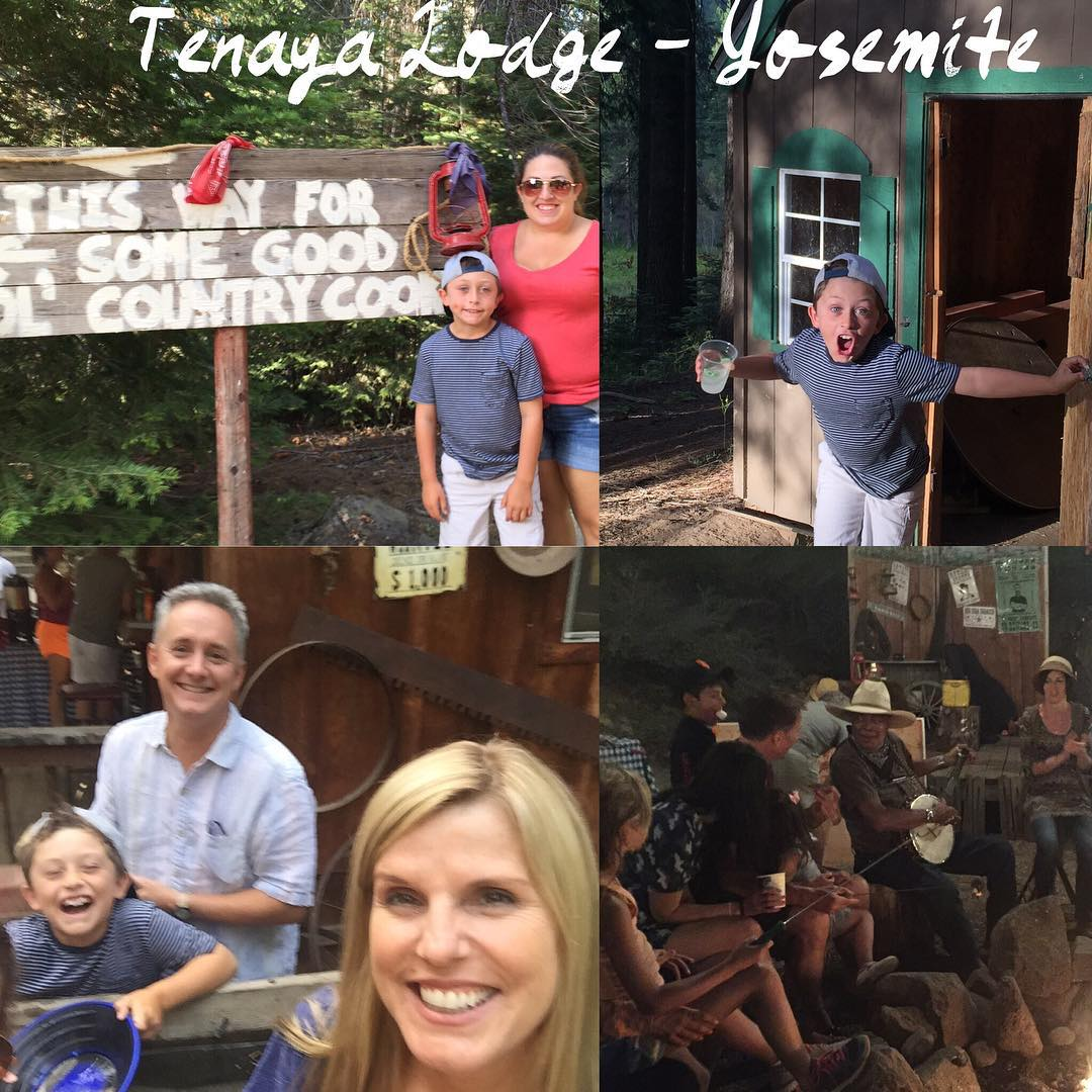 With my family at Tenaya Lodge  Yosemite! Missing LJ!!hellip