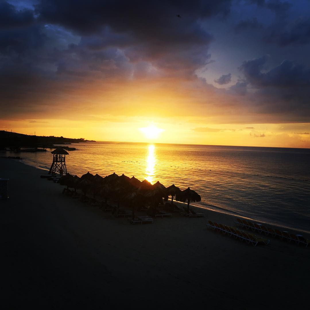 Nicest Sunset yet!! Jamaica fun summer vacation