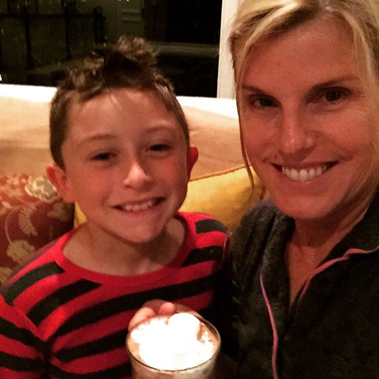 Its a Hot Cocoa kind of night! Grandsons family lovehellip