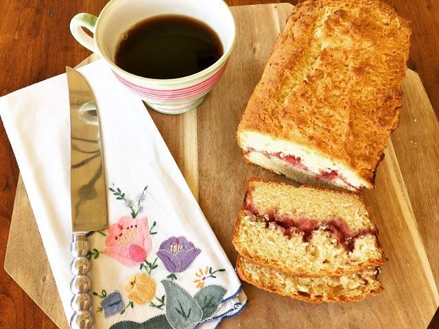 Strawberry Almond Bread Recipe! With a Sweet Seasonal Surprise Inside!hellip
