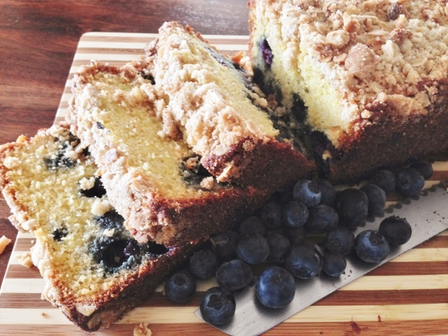 Blueberry Cornmeal Breakfast Cake – Recipe!  Gluten-Free! Image 1