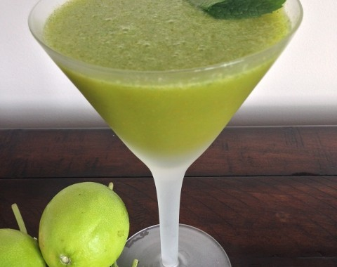 Kumquat & Mint Margaritas – Recipe!