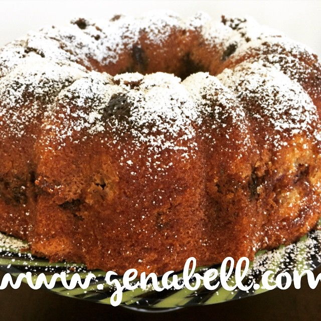Brown Sugar Blueberry Bundt Cake Recipe! Great for a summerhellip