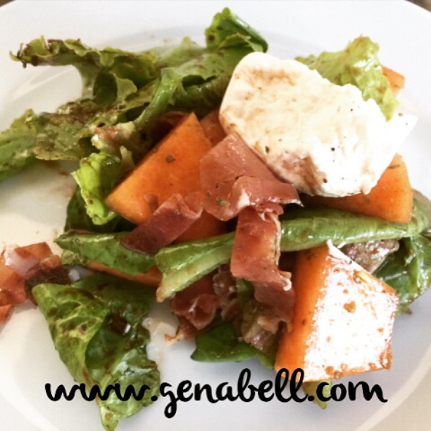 Prosciutto Melon  Burrata Salad  Recipe! Light  Refreshinghellip