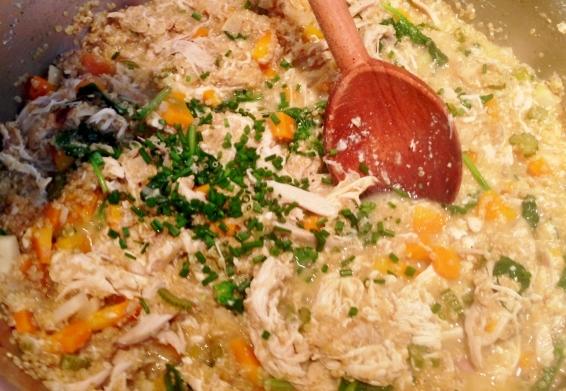 Chicken-Vegetable Quinoa Risotto – Recipe! Image 4
