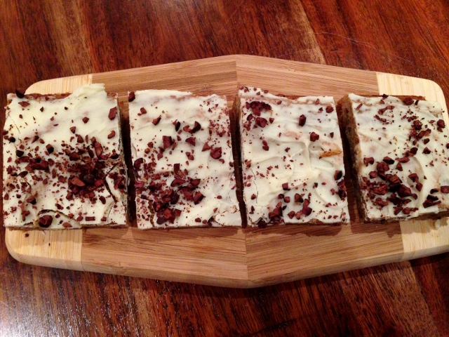 Cocoa Nib Blondies with White Chocolate Glaze 079 (640x480)
