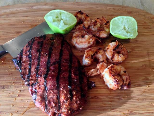 Easy Grilled Mole Surf & Turf – Recipe! Image 1