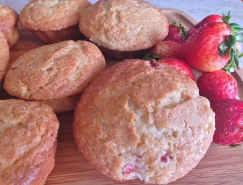 Strawberry Lemon Muffins – Recipe!