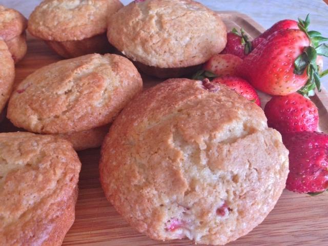 Strawberry Lemon Muffins – Recipe! Image 1