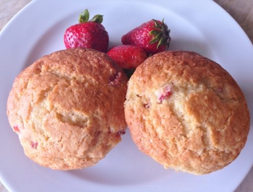 Strawberry-Lemon Muffins – Recipe!