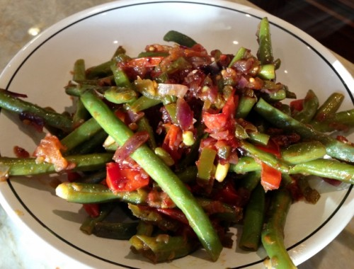 Sweet & Spicy Green Beans – Recipe!