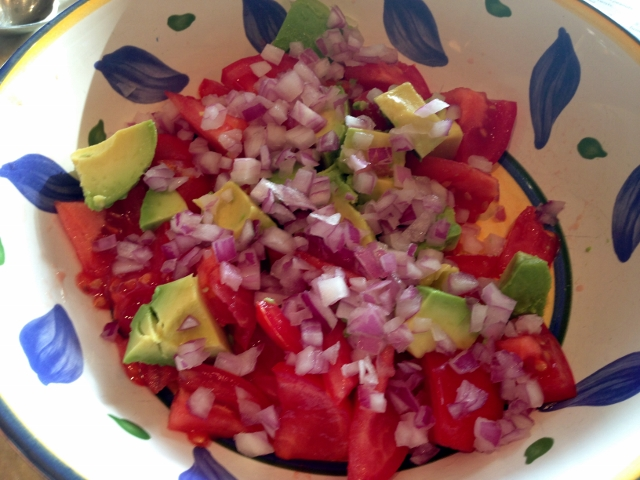Tomato & Avocado Salad with Feta Dressing 010 (640x480)