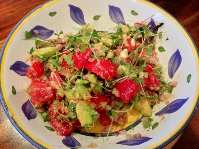 Tomato & Avocado Salad with Feta Dressing - Recipe! - Live ...