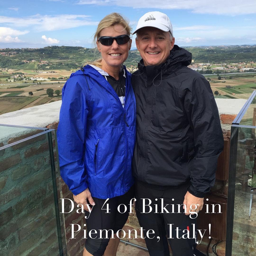 Fun day biking through Italy! Started with a little rainhellip