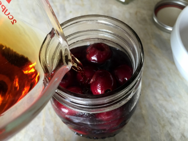 Bourbon Pomegranate Soaked Cherries 026 (640x480)