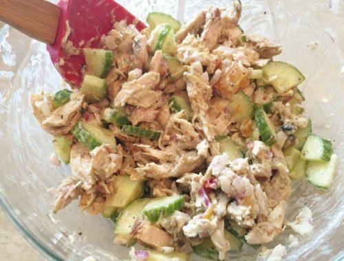 Curried Chicken Salad – Recipe!