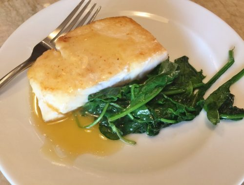 Halibut with Citrus Sauce – Recipe!