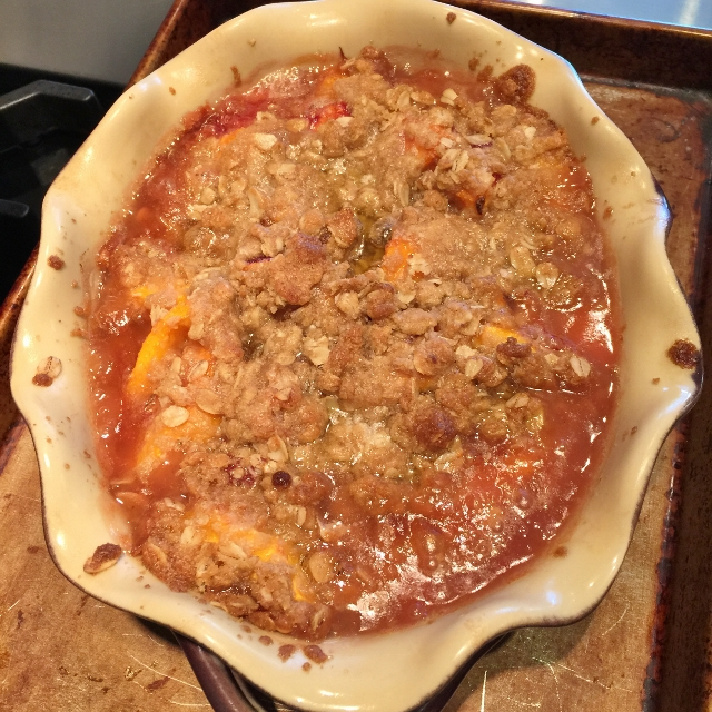 Fresh Peach Crisp – Recipe! Image 1