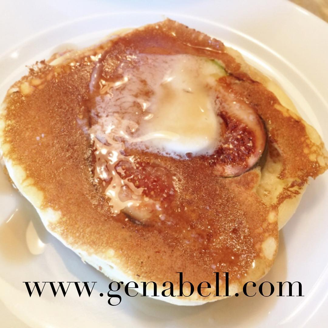 Buttermilk Fig Pancakes  Recipe! Breakfast never tasted so good!hellip
