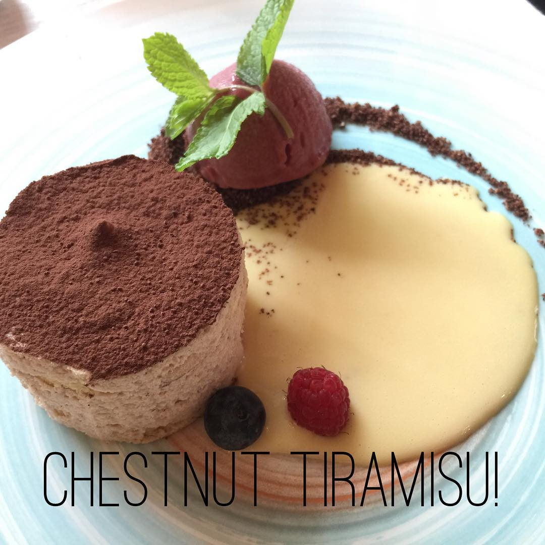 I loved this version of Tiramisu when dining in Bellagiohellip