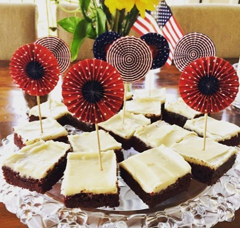 Dont Forget these Red Velvet Brownies for your July 4thhellip