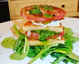 Summer Tomato Napoleons  Recipe! More yummy things to dohellip