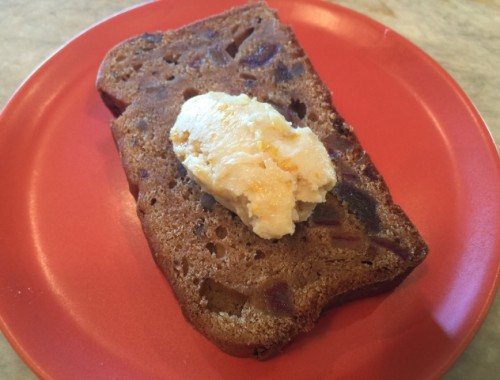 Date Nut Bread with Orange Maple Butter – Recipe!