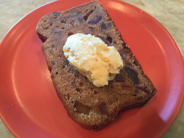 Date Nut Bread with Orange Maple Butter – Recipe! Image 1