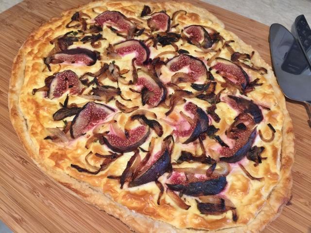Caramelized Onion & Fresh Fig Tart – Recipe! Image 1