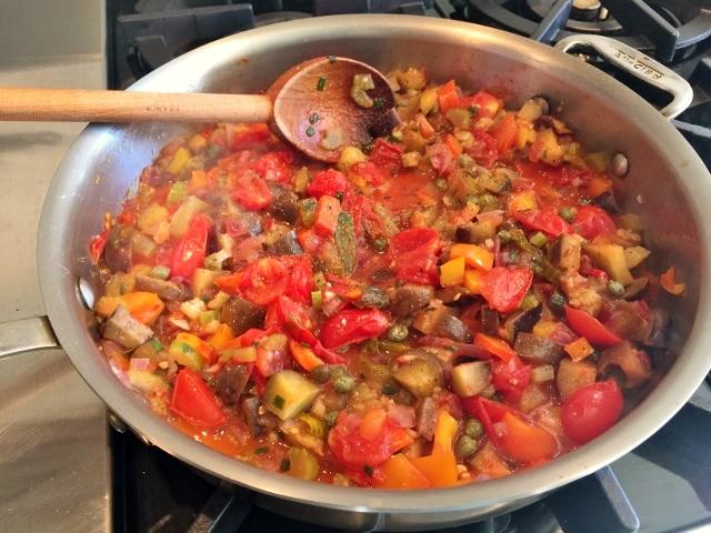 Garden Caponata – Recipe! Image 3