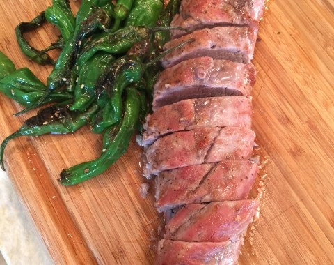 Miso Glazed Pork Tenderloin – Recipe!