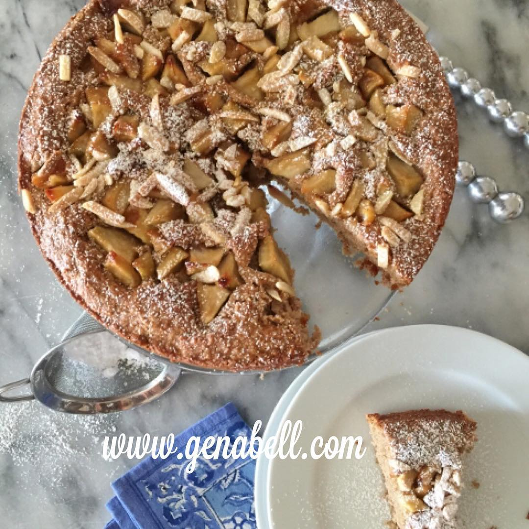 Apple Almond Coffeecake Recipe!! Apple Season is Here! Great forhellip