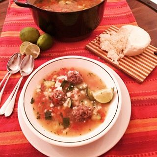Easy Albondigas Soup Recipe! Great to make this weekend!! wwwgenabellcomhellip