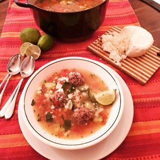 Easy Albondigas Soup Recipe! Great to make this weekend!! wwwgenabellcomhellip