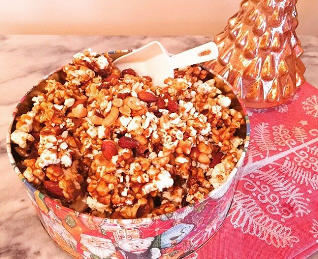 Fun Holiday Treats  Nutty Holiday Caramel Corn! Just postedhellip
