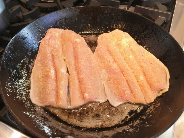 Crispy Trout with Rosemary Creamed Corn 060 (640x480)