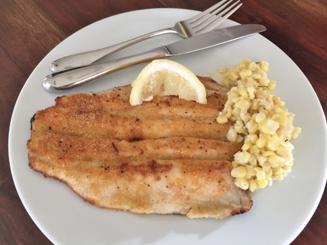 Crispy Trout with Rosemary Creamed Corn 086 (640x480)
