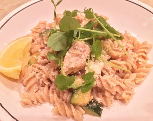 Lemony Salmon Fusilli – Recipe! Image 1