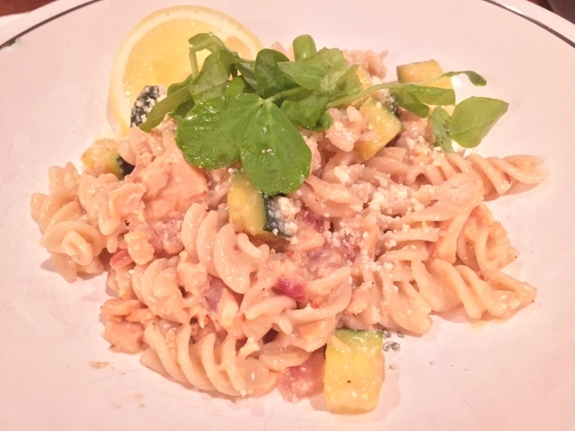 Lemony Salmon Fusilli – Recipe! Image 2
