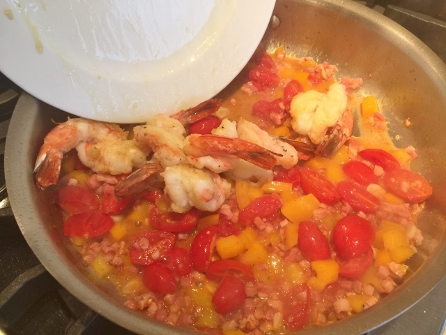 Shrimp Scampi with Pancetta & Tomatoes – Recipe! Image 5