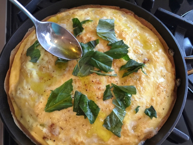 Truffle & Caramelized Leek Frittata – Recipe!  Low-Carb Brunch! Image 1