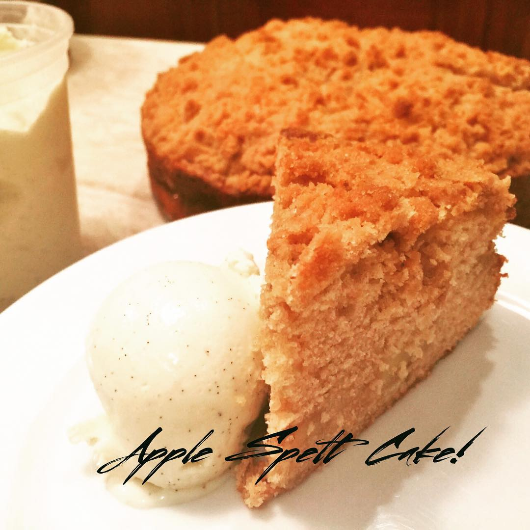 Apple Spelt Cake Recipe! Great for dessert or brunch thishellip