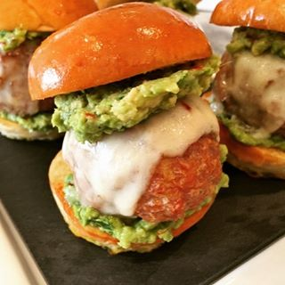 Mexican Turkey Meatball Sliders  Recipe! The Perfect Dodger Gamehellip