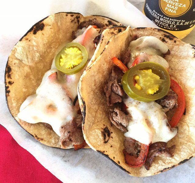 Philly Cheese Steak Tacos! Are we ready for some Football??hellip
