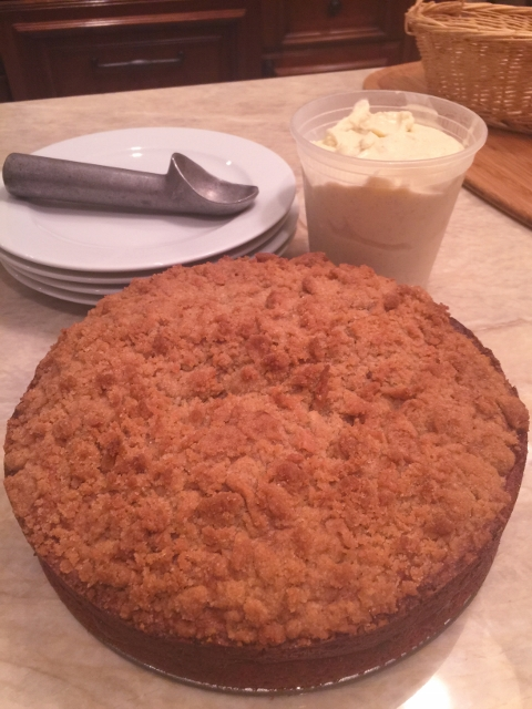 Vanilla Spelt Cake Recipe