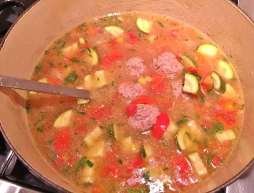 Albondigas Soup – Recipe!