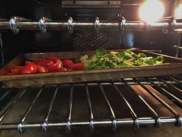Roasted Brussels Sprouts, Cherry Tomatoes & Salami 007 (640x480)