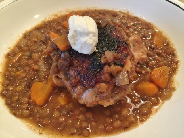 Slow Cooker Chicken & Lentils – Recipe! Image 1